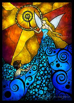 The Blue Fairy by Mandie Manzano