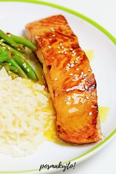 Healthy Dishes, Healthy Recipes, Fish Dishes, Fried Rice, Seafood, Easy Meals, Food And Drink, Cooking Recipes, Dinner