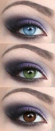 I love purple eyeshadow