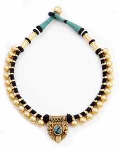 Tribal Indian Necklace. Hand made in India