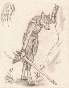 This is the second of two Commissions for completed not long after the other. Both commissions are of his Coywolf Ranger Character Caelum. Was a bit of a challenge designing a coywolf. Besides thei...