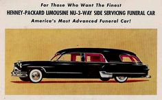 Oooh! Gorgeous Packard hearse!