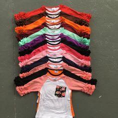 Бесплатная доставка девушки одежда о-образным вырезом детские девушки дети обледенения рябить реглан топы рубашки девушки повседневная топы осень Осень топ Футболка #shoes, #jewelry, #women, #men, #hats, #watches, #belts