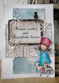 Sugar Nellie: Winter wishes and snowflake kisses