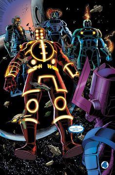 The Celestials y Galactus
