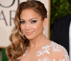 Jennifer Lopez at the 70th Annual Golden Globes held at The Beverly Hilton Hotel on January 13, 2013.
