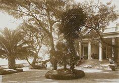 The Sunday porch/enclos*ure: French Riviera - Poincare residence, ca. 1914-18, Eze-sur-mer, France, via Universite Caen Basse-Normandie.|