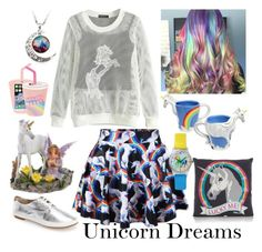 """Unicorn Dreams"" by bee4735 on Polyvore"