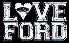 I'm a Ford girl(: