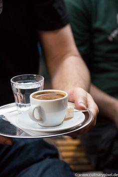 Turkischer Kaffee bei Fazil Bey's Turkish Coffee, Istanbul