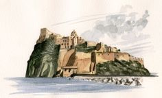 Ischia (NA). Il Castello aragonese