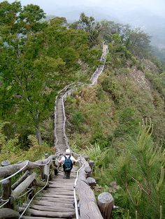 Dakeng scenic trails, Taichung, Taiwan (by Larry'nJill).