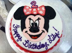 Minnie Mouse Email me for cakes!  Belongstomord@gmail.com Frisco tx