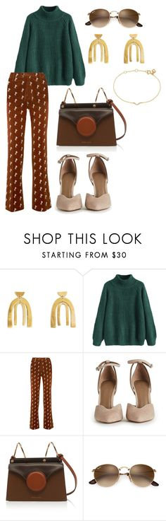 """""""emerald choco"""" by indirag on Polyvore featuring Chloé and Maya Magal"""