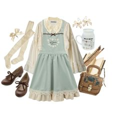 Spring is here! by mlekko on Polyvore featuring polyvore, fashion, style, Aula Aila, Wigwam, Darling and clothing