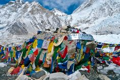 hiking Mt. Everest Base Camp ... in the Himalayas, Nepal