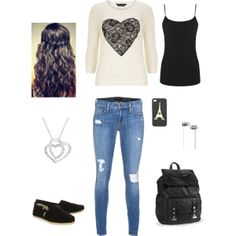 """Hearts"" by meredithpatterson on Polyvore"