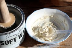 How to create a tinted wax with Chalk Paint® decorative paint by Annie Sloan and Soft Wax | By Finding Silver Pennies