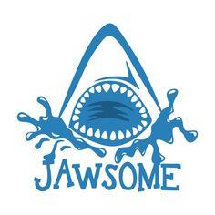 Shark Svg Monogram Frames Instant Download Cut By