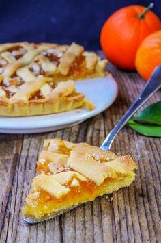 Crostata alle mandorle e marmellata di arance vickyart arte in cucina