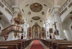 Barocke Klosterkirche in Pielenhofen