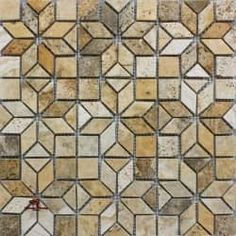 Scabos Enigma Brushed Straight Edge | Travertine Los Angeles