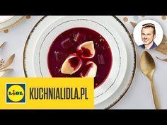BARSZCZ CZERWONY Z USZKAMI 👌   Karol Okrasa & Kuchnia Lidla - YouTube Kaito, Vegetables, Christmas, Youtube, Food, Xmas, Essen, Vegetable Recipes, Navidad