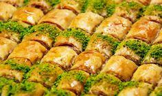 TASTE LANDs Baklava - en mycket god turkisk dessert med pistage nötter.   www.tasteland.se