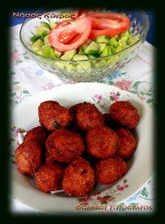 cyprus meatballs-keftedes