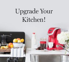 Is your kitchen in need of a little love? Upgrade your space with $1,500, ten Homepolish design hours and a Keurig ® 2.0 K250 brewer.