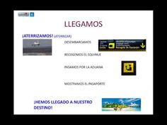 ▶ At the airport in Spanish_Vocabulary - YouTube Fuente: el blog para aprender español