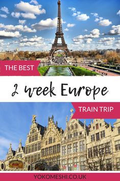 The ultimate 2 week Europe train trip., TRAVEL, Usually when I have two weeks to travel I instantly start looking at destinations far away from the UK, but this summer I decided to plan a two week t. 2 Week Europe Itinerary, Europe Travel Guide, Travel Guides, Trip To Europe, Euro Trip Itinerary, Best Cities In Europe, Travel Through Europe, Europe Europe, Traveling Europe