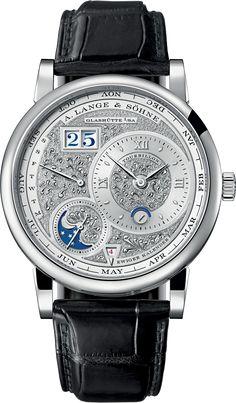Lange 1 Handwerksunst Tourbillon Perpetual Calendar Watch