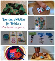 DIY Learning Activities for Toddlers. Montessori Approach. - Montessori NatureFacebookGoogle+InstagramPinterest