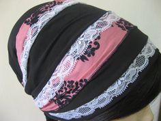 Very neat! Tichel Headcovering Head Cover Headscarf Scarf. $26.00, via Etsy.