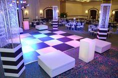 Custom Dance Floors by PRI Productions - Gator Bowl 2012