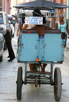 Cuba - La Havane - balade en cyclo La realidad de Cuba El Jabao....