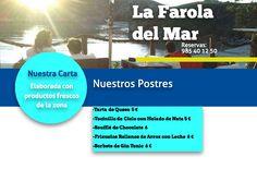 Los Postres de la Farola del Mar #llanes #restaurante #playadepoo