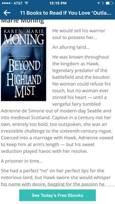 Suggestion from blog related to outlander #3