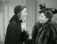 Greta Garbo and Ruth Gordon in Two-Faced Woman Ruth Gordon, Colin Firth, Fur Coat, Pride, Actors, Hollywood Actresses, Classic Hollywood, Lady, Movies