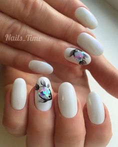 30 Fish Nail Art Ideas which is the trending manicure design of 2019 30 Fish Nail Art Ideas which is the trending manicure design of Nail Art is the right now. Especially in the summer of this Gold Nail Art, White Nail Art, Acrylic Nail Art, Nail Art Diy, Fish Nail Art, Fish Nails, Fish Art, Classy Nails, Cute Nails