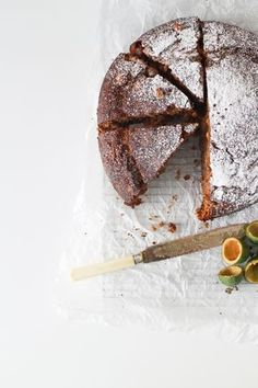This delicious Feijoa and Walnut Cake is perfect to make during Autumn when this classic New Zealand fruit is in abundance Fejoa Recipes, Sweet Recipes, Dessert Recipes, Desserts, Recipies, Delish Cakes, Biscuits, Naked Cakes, Walnut Cake