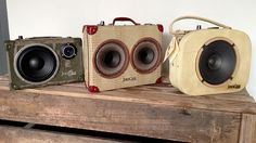 COLLINGWOOD: JukeCase upcycled portable speakers | The Junk Map