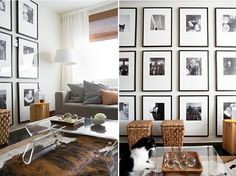 How to Decorate a Large Wall | HomegrownInteriors