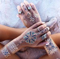 Chic boho tattoos for summer style. #boho #tattoo #bohemian