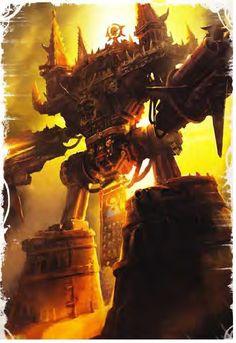 40k - Dies Irae imperator Titan  FOR CHAOS!!!