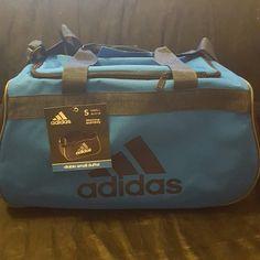 Adidas Duffel Bag NWT 2 tones of blue.Bag is considered