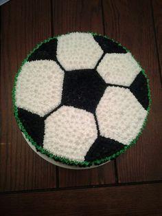 Torta decorada con merengue