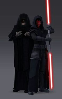 Darth Sidious & Darth Maul from The Clone Wars