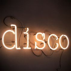 Who remembers disco?????/Disco Neon Source: Uniche Interior Furnishings